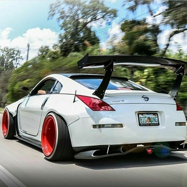 Nissan 350Z Widebody Fender Flares Type 1 - Full Set