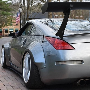 Nissan 350Z Widebody Fender Flares Type 2- Full Set