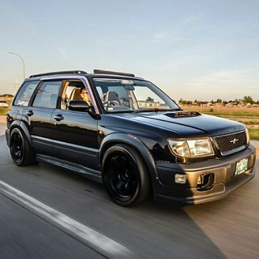 Subaru Forester SF5 Fender Flares - Full Set